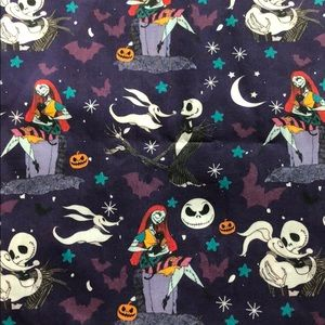 "Copy: Nightmare Before Christmas 18""x22"" fabric"